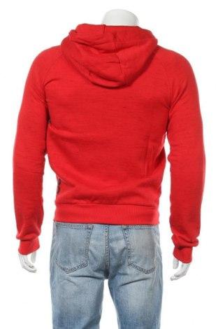 Мъжки суичър Canadian Peak, Размер M, Цвят Червен, 72% памук, 28% полиестер, Цена 53,40лв.