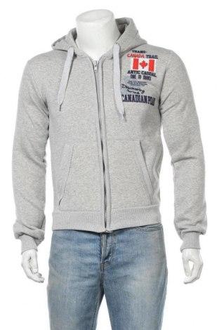 Мъжки суичър Canadian Peak, Размер M, Цвят Сив, 65% памук, 35% полиестер, Цена 46,28лв.