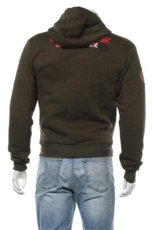Мъжки суичър Canadian Peak, Размер M, Цвят Зелен, 65% памук, 35% полиестер, Цена 40,47лв.