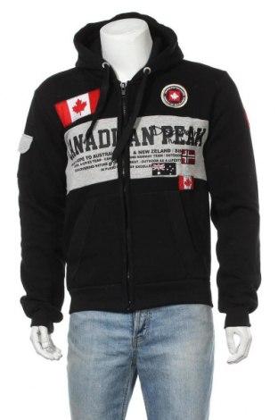 Мъжки суичър Canadian Peak, Размер L, Цвят Черен, 65% памук, 35% полиестер, Цена 46,53лв.