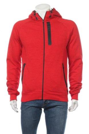 Мъжки суичър Canadian Peak, Размер L, Цвят Червен, 72% памук, 28% полиестер, Цена 56,07лв.
