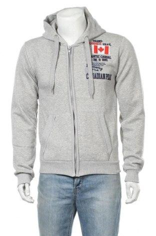 Мъжки суичър Canadian Peak, Размер L, Цвят Сив, 65% памук, 35% полиестер, Цена 56,07лв.