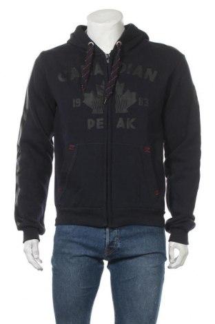 Мъжки суичър Canadian Peak, Размер L, Цвят Син, 65% памук, 35% полиестер, Цена 44,50лв.