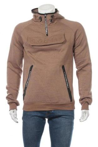 Мъжки суичър Canadian Peak, Размер L, Цвят Кафяв, 65% памук, 35% полиестер, Цена 57,85лв.
