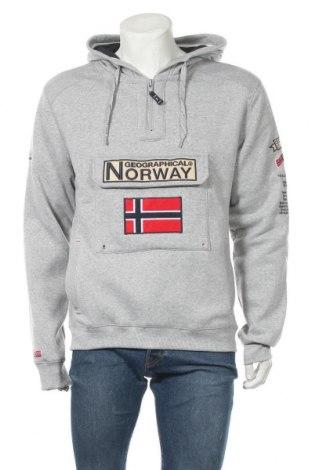 Ανδρικό φούτερ Geographical Norway, Μέγεθος XL, Χρώμα Γκρί, Πολυεστέρας, Τιμή 40,27€