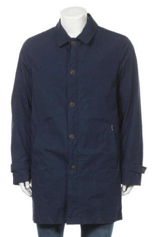 Pánský kabát  Faconnable, Velikost L, Barva Modrá, 80% bavlna, 20% polyamide, Cena  1093,00Kč