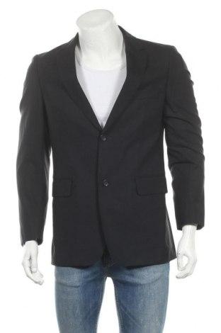 Мъжко сако Burberry, Размер M, Цвят Черен, 95% вълна, 5% еластан, Цена 195,60лв.