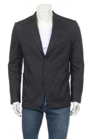 Ανδρικό σακάκι Faconnable, Μέγεθος L, Χρώμα Μπλέ, 75% μαλλί, 25% βαμβάκι, Τιμή 75,59€