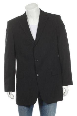 Мъжко сако Hugo Boss, Размер L, Цвят Черен, 80% вълна, 20% мохер, Цена 41,36лв.