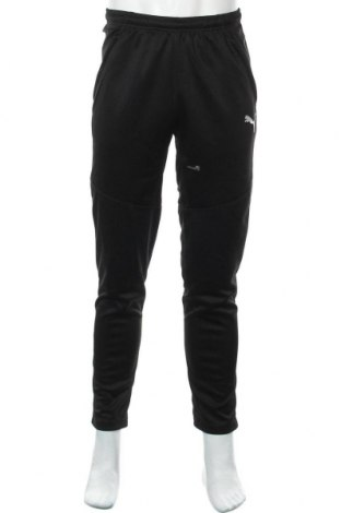 Мъжко спортно долнище PUMA, Размер M, Цвят Черен, Полиестер, Цена 49,28лв.
