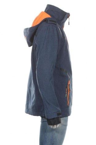 Мъжко спортно яке Canadian Peak, Размер L, Цвят Син, 97% полиестер, 3% еластан, Цена 194,25лв.