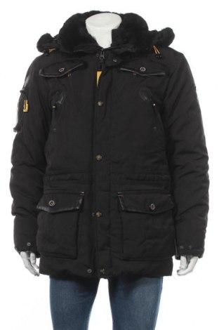 Мъжко яке Geographical Norway, Размер M, Цвят Черен, Полиестер, Цена 194,25лв.