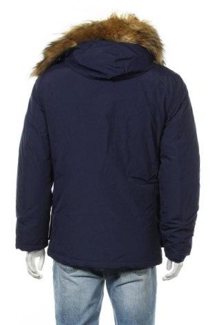 Мъжко яке North Wood, Размер M, Цвят Син, 63% полиамид, 37% памук, Цена 103,95лв.
