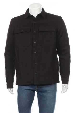 Мъжко яке Pull&Bear, Размер M, Цвят Лилав, 68% полиестер, 32% вълна, Цена 80,99лв.