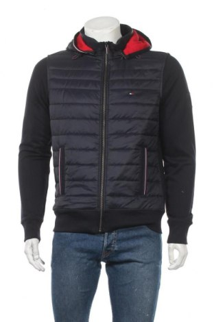 Ανδρικό μπουφάν Tommy Hilfiger, Μέγεθος M, Χρώμα Μπλέ, Πολυεστέρας, Τιμή 154,12€
