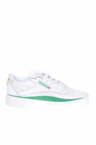 Обувки Reebok, Размер 35, Цвят Син, Естествена кожа, естествен велур, Цена 59,77лв.