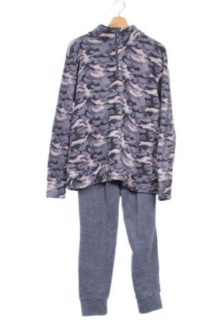 Пижама, Размер M, Цвят Син, Полиестер, Цена 35,22лв.