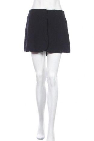 Пола - панталон Cacharel, Размер M, Цвят Син, 60% вискоза, 40% вълна, Цена 42,56лв.