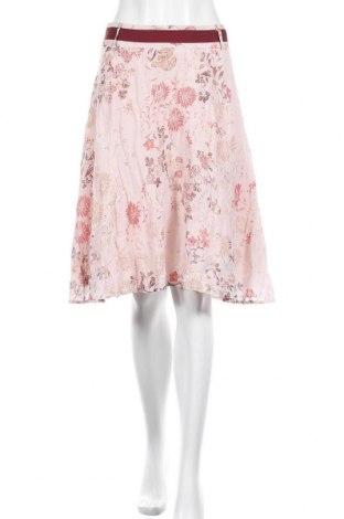 Пола Nadia Nardi, Размер S, Цвят Розов, 48% вискоза, 44% памук, 8% метални нишки, Цена 21,95лв.