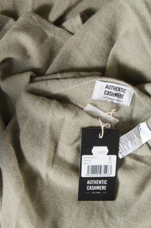 Пончо Authentic Cashmere, Размер M, Цвят Зелен, Кашмир, Цена 90,72лв.