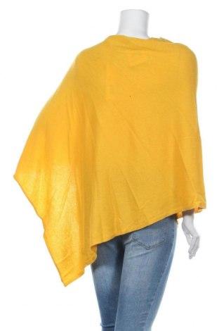 Пончо Perfect Cashmere, Размер M, Цвят Жълт, Кашмир, Цена 79,60лв.