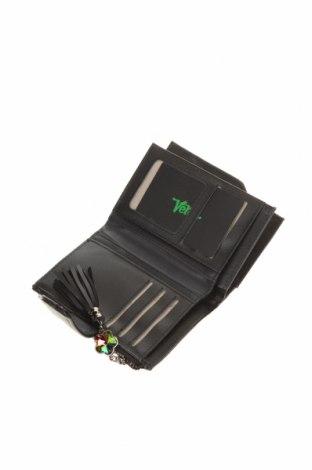 Портмоне Verde, Цвят Черен, Еко кожа, Цена 29,40лв.