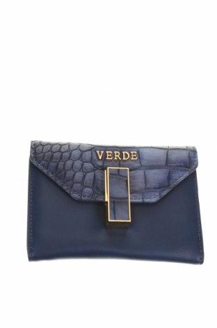 Πορτοφόλι Verde, Χρώμα Μπλέ, Δερματίνη, Τιμή 12,63€
