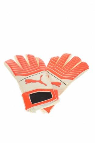 Γάντια ποδοσφαίρου PUMA, Χρώμα Εκρού, Πολυουρεθάνης, Τιμή 7,77€