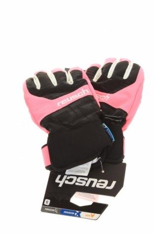 Mănuși pentru sporturi de iarnă Reusch, Culoare Roz, 70% poliester, 20% poliuretan, 10% elastan, Preț 72,53 Lei