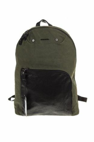 Σακίδιο πλάτης Diesel, Χρώμα Πράσινο, Κλωστοϋφαντουργικά προϊόντα, γνήσιο δέρμα, Τιμή 89,94€