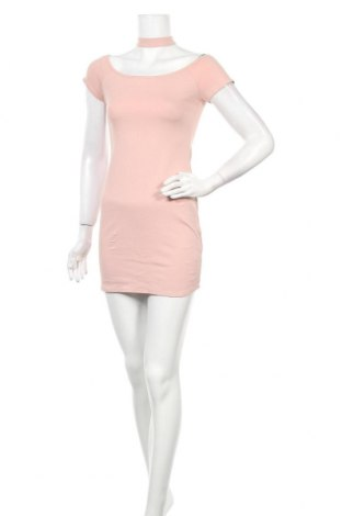 Рокля Active Basic USA, Размер S, Цвят Розов, 68% вискоза, 28% полиамид, 4% еластан, Цена 20,53лв.