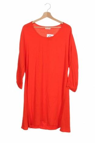 Рокля American Vintage, Размер XS, Цвят Оранжев, Вискоза, Цена 22,05лв.
