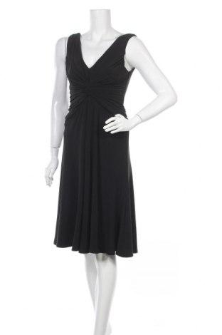 Рокля Anne Klein, Размер S, Цвят Черен, 95% полиестер, 5% еластан, Цена 24,75лв.