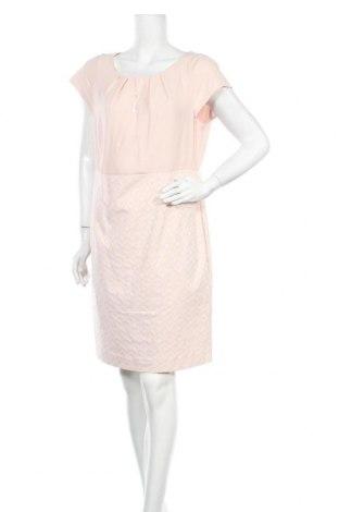Рокля Comma,, Размер XL, Цвят Розов, 55% памук, 42% полиестер, 3% еластан, Цена 42,25лв.
