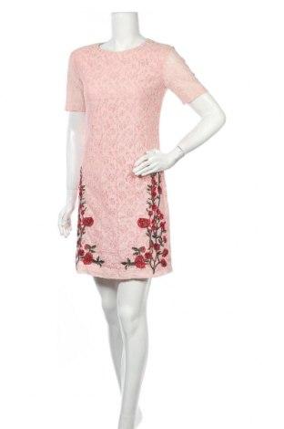 Φόρεμα Desigual, Μέγεθος S, Χρώμα Ρόζ , 76% βαμβάκι, 24% πολυαμίδη, Τιμή 31,92€