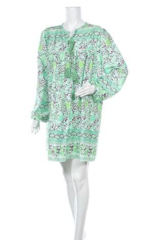 Рокля Miss Look, Размер L, Цвят Зелен, Памук, Цена 27,41лв.