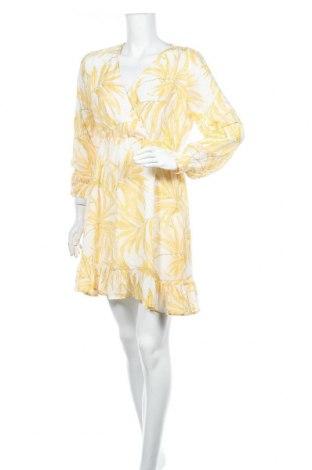 Рокля Object, Размер M, Цвят Жълт, Полиестер, Цена 40,05лв.