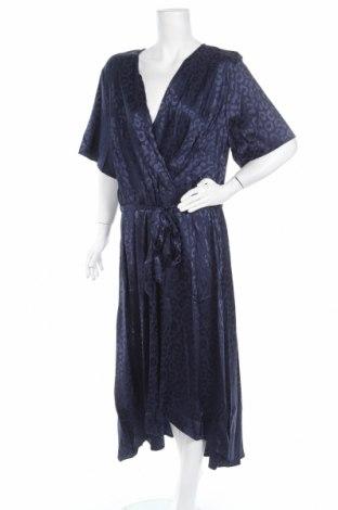 Φόρεμα Quiz, Μέγεθος 3XL, Χρώμα Μπλέ, 97% πολυεστέρας, 3% ελαστάνη, Τιμή 37,25€