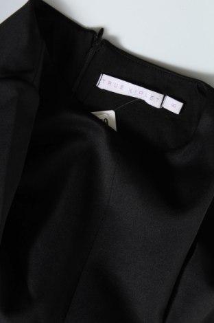 Рокля True Violet, Размер XS, Цвят Черен, 95% полиестер, 5% еластан, Цена 25,33лв.