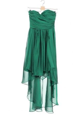 Рокля Yessica, Размер XS, Цвят Зелен, Полиестер, Цена 35,70лв.