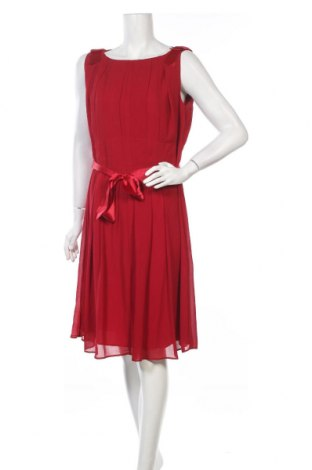 Φόρεμα Young Couture By Barbara Schwarzer, Μέγεθος XL, Χρώμα Κόκκινο, Πολυεστέρας, Τιμή 64,08€