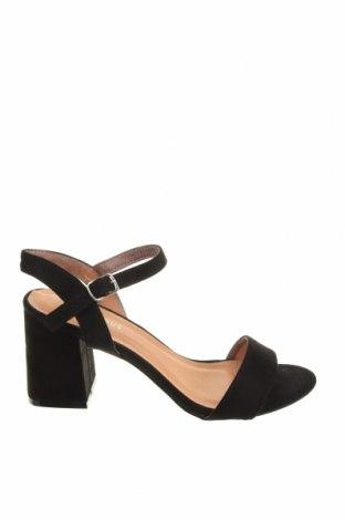 Σανδάλια Glamorous, Μέγεθος 40, Χρώμα Μαύρο, Κλωστοϋφαντουργικά προϊόντα, Τιμή 17,03€