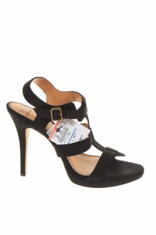 Σανδάλια Pull&Bear, Μέγεθος 40, Χρώμα Μαύρο, Κλωστοϋφαντουργικά προϊόντα, Τιμή 5,06€