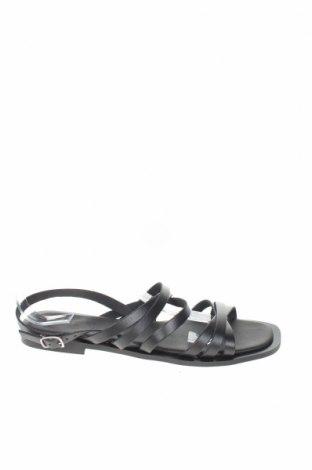 Σανδάλια Zign, Μέγεθος 41, Χρώμα Μαύρο, Γνήσιο δέρμα, Τιμή 29,78€