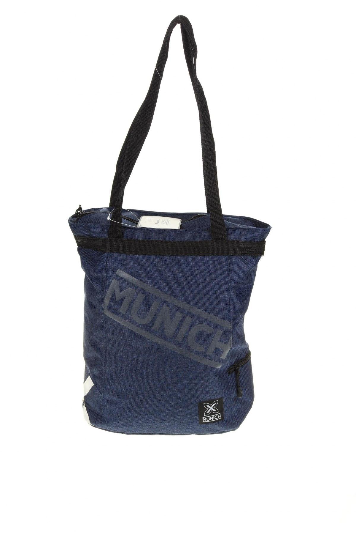 Чанта за лаптоп Munich, Цвят Син, Текстил, Цена 65,45лв.