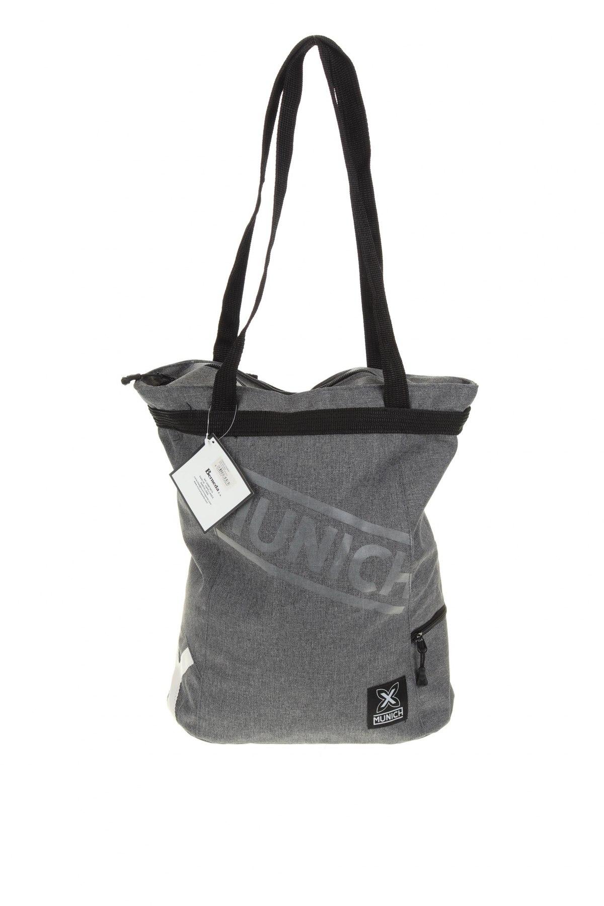 Чанта за лаптоп Munich, Цвят Сив, Текстил, Цена 89,25лв.