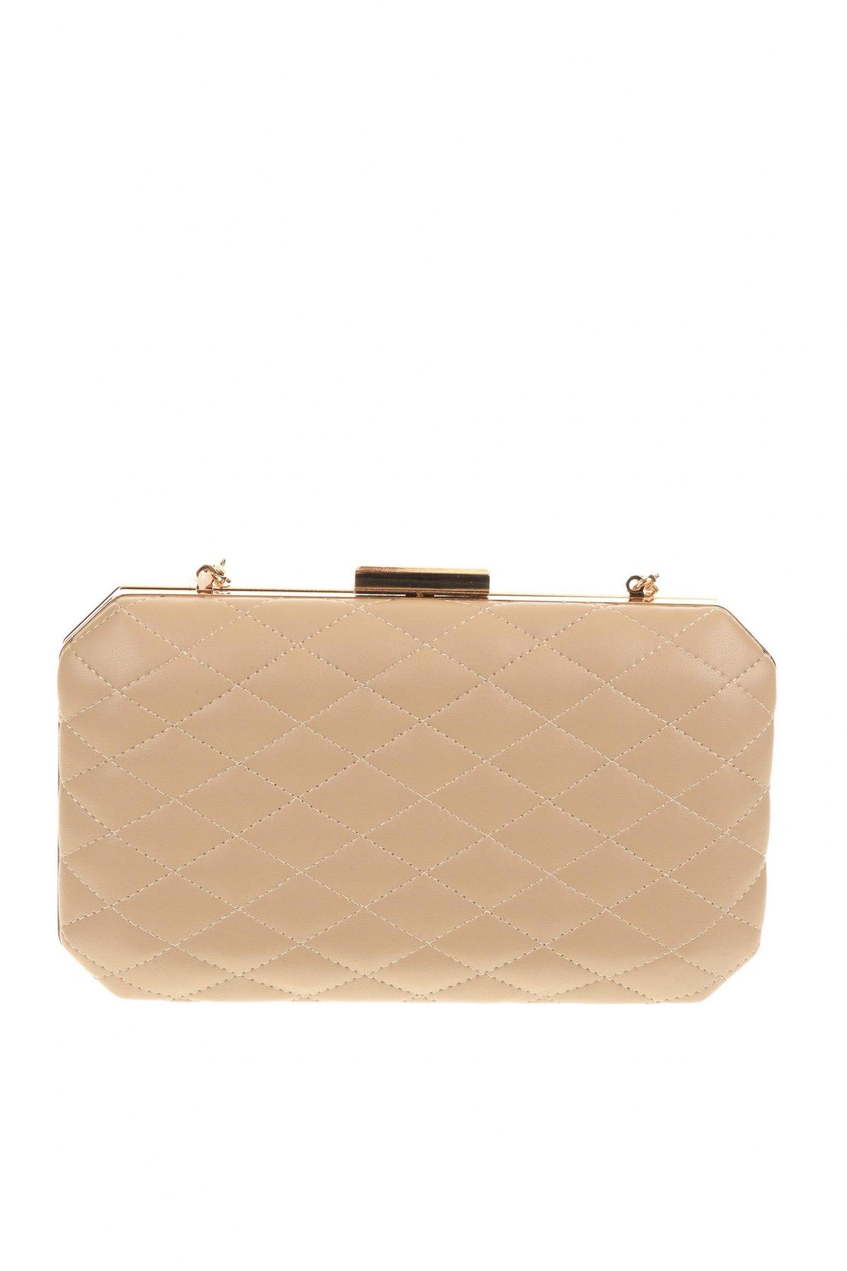 Дамска чанта Verde, Цвят Бежов, Еко кожа, Цена 12,98лв.