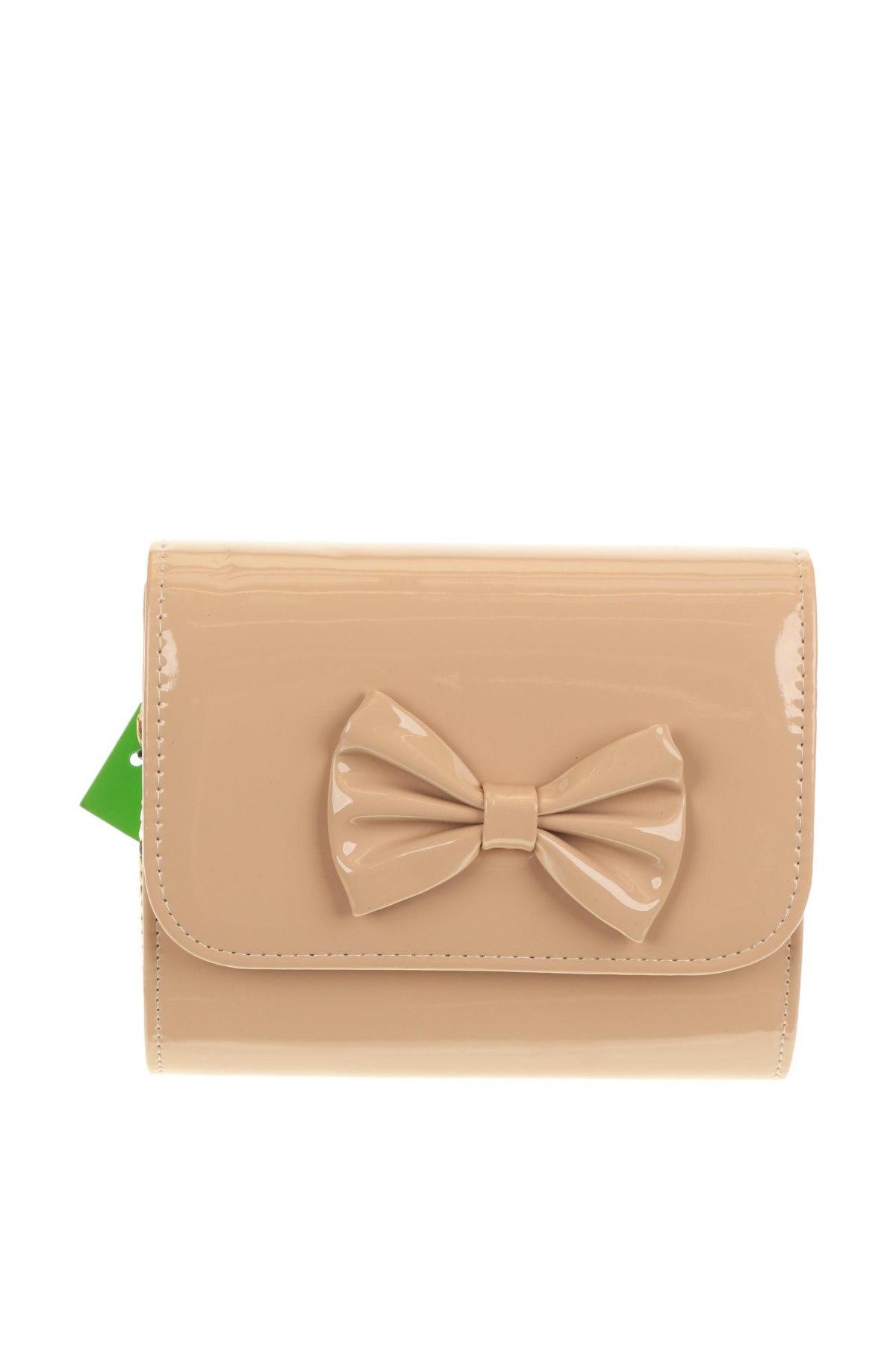 Дамска чанта Verde, Цвят Бежов, Еко кожа, Цена 11,80лв.