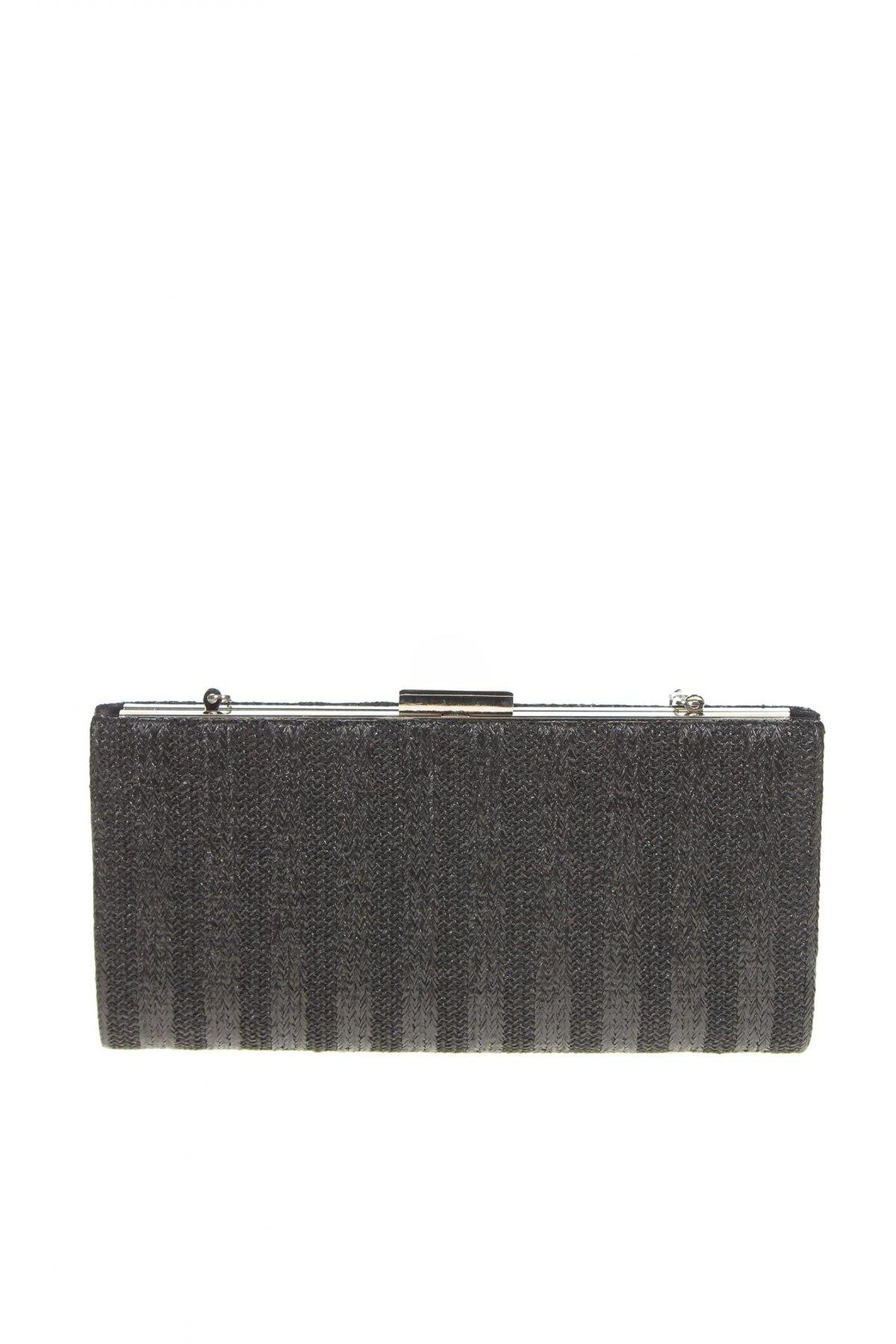 Дамска чанта Verde, Цвят Черен, Текстил, Цена 10,62лв.