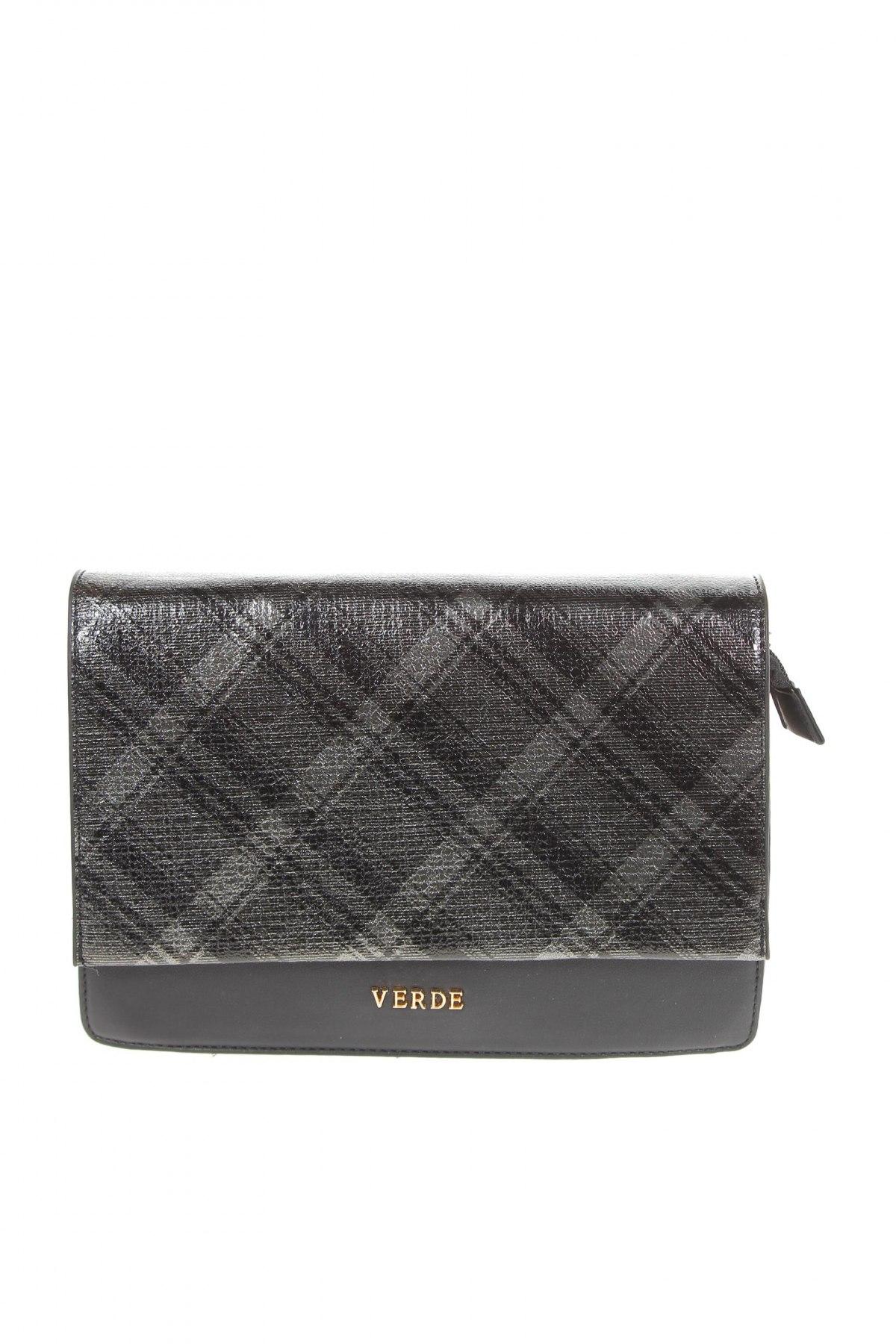 Дамска чанта Verde, Цвят Черен, Еко кожа, Цена 14,49лв.